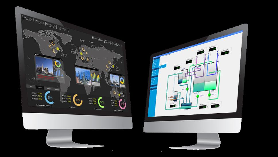 SCADA(FA-Panel)で作成出来る監視システムデモ